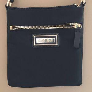 Calvin Klein small nylon cross body bag